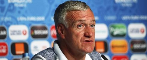 Didier Deschamps, entraîneur de la France