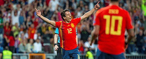 Real Sociedad star Mikel Oyarzabal removed from Spain squad after positive Covid-19 test