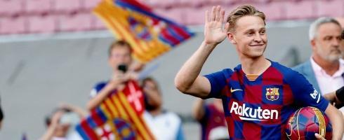 Frenkie De Jong Confident Of Fc Barcelona Starting Role Football Espana