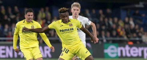 Villarreal forward Samuel Chukwueze