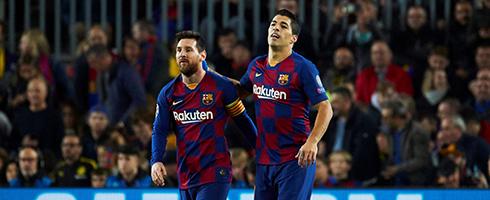 Luis Suarez claims Barcelona should have allowed Lionel Messi to leave