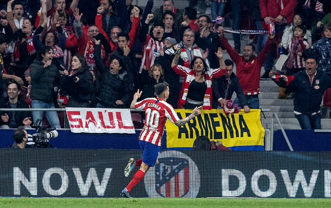 Watch: Angel Correa doubles Atletico Madrid's lead against Real Sociedad