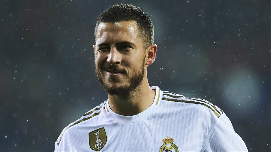 Eden Hazard back in Real Madrid training after Covid-19 recovery