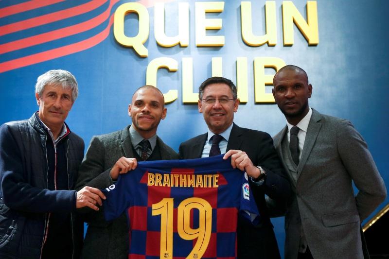 Barcelona put price tag on Martin Braithwaite amid West Ham, Everton interest
