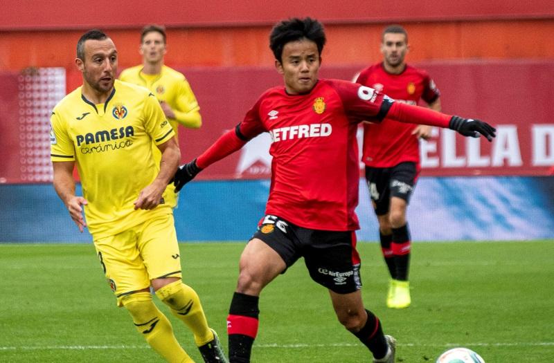 Real Sociedad favourites to land Real Madrid teen Takefusa Kubo
