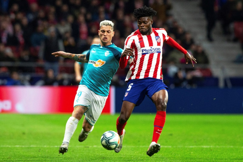 Arsenal and Juventus continue to monitor Atletico Madrid's Thomas Partey