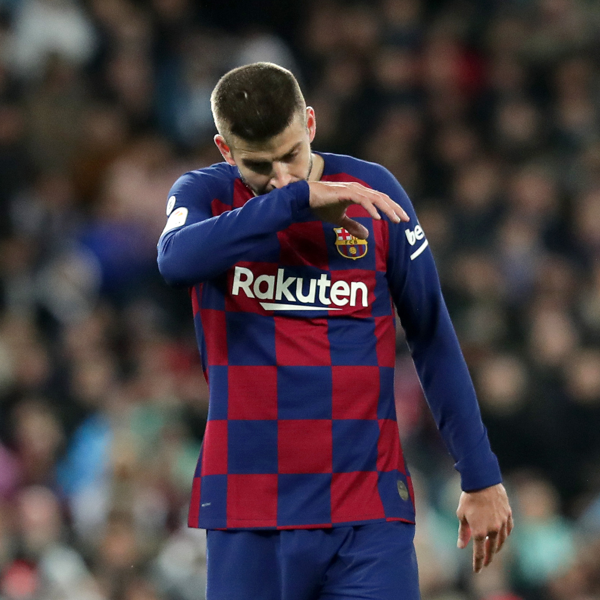 Barcleona's Gerard Pique calls for unity in fighting Covid 19