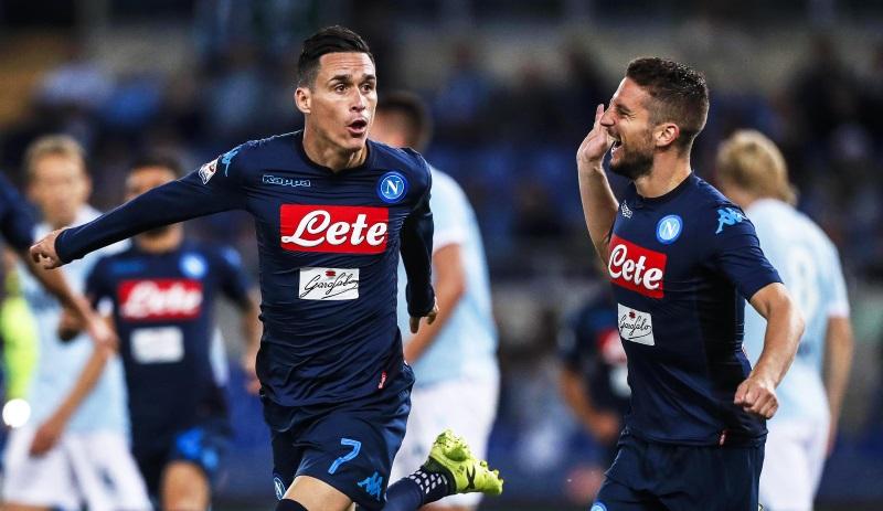 Atletico Madrid target Napoli duo Jose Callejon and Dries Mertens