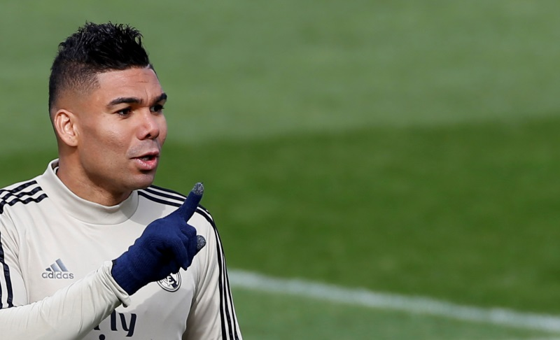 Real Madrid's Casemiro to miss Real Mallorca clash through suspension
