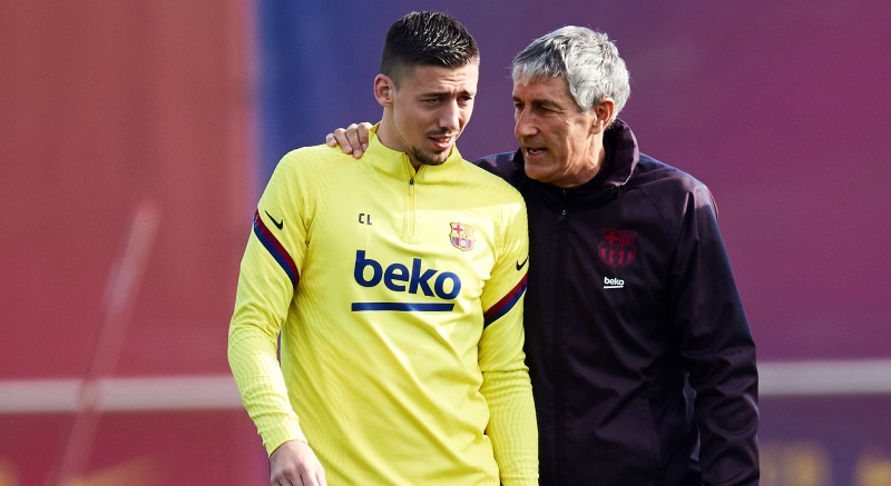 """Clement Lenglet says players are going to """"risk a lot"""" by playing remaining La Liga games"""
