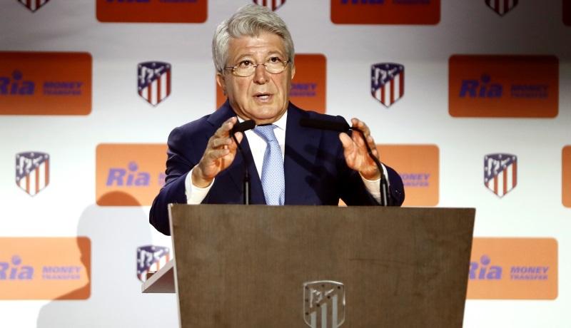 Atletico Madrid president warns of 'huge' financial damage to La Liga clubs in case of suspension