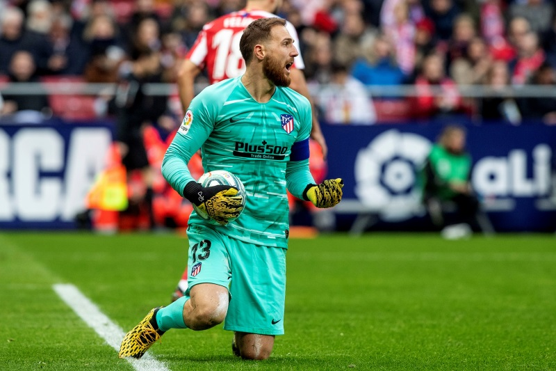 Oblak Madrid