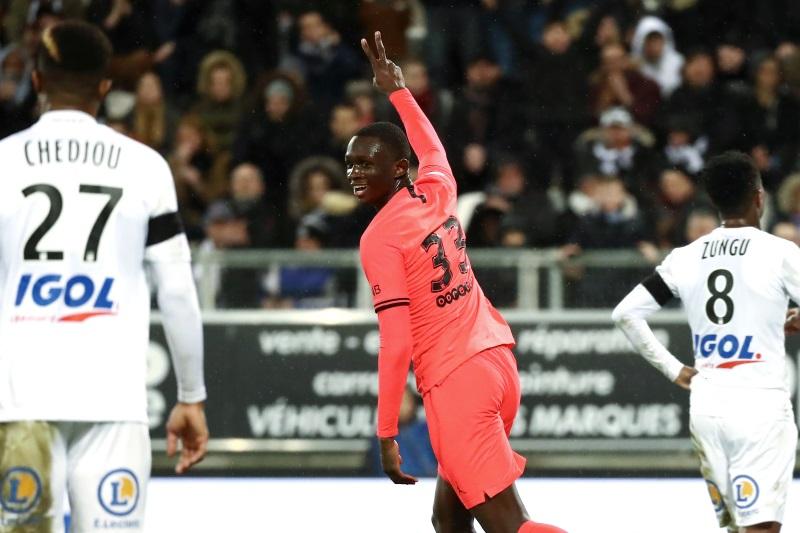 Barcelona and RB Leipzig battle for PSG defender Tanguy Kouassi