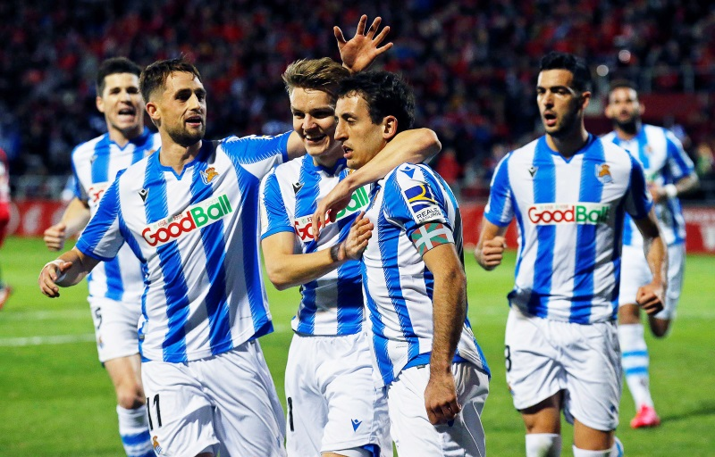 Real Sociedad reach first Copa del Rey final in 32 years to end Mirandes dream