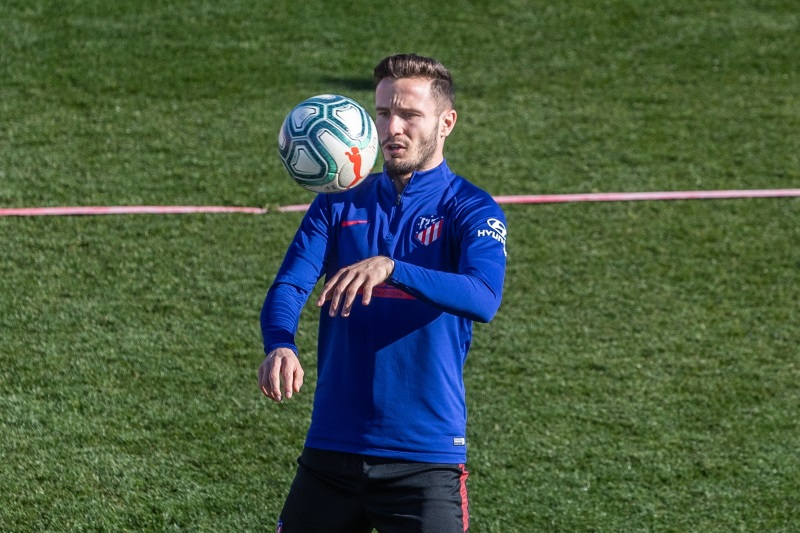 Manchester United and Manchester City to battle for Atletico Madrid's Saul Niguez