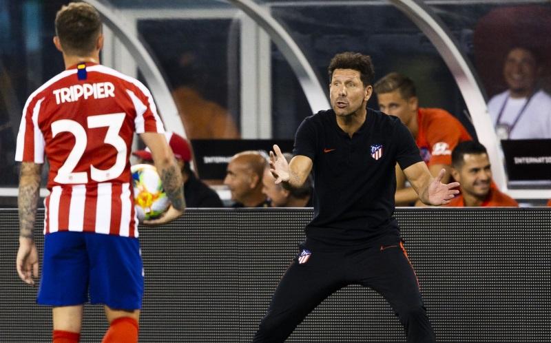 Atletico Madrid: Kieran Trippier praises 'unbelievable manager' Diego Simeone