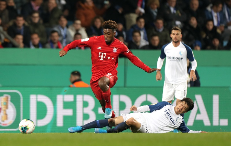 Kingsley Coman and Jerome Boateng passed fit to face Barcelona