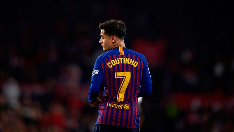 Barcelona to demand €10m loan fee for Philippe Coutinho
