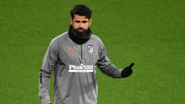 El delantero del Atlético de Madrid Diego Costa