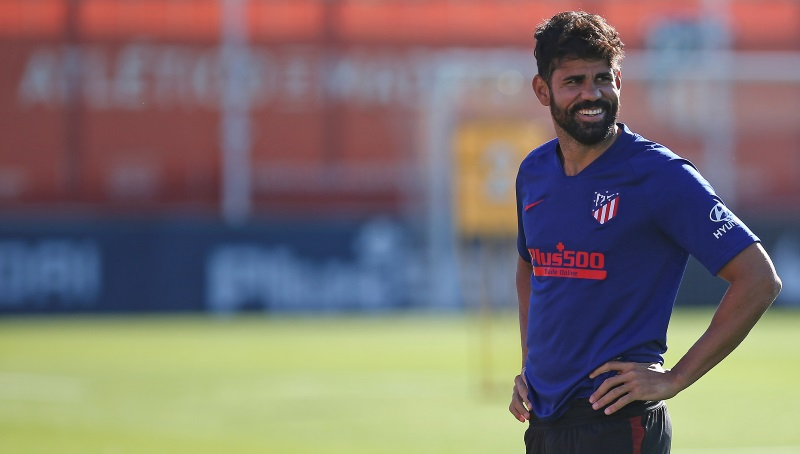 Atletico Madrid confirm Diego Costa and Santiago Arias test positive for Covid-19