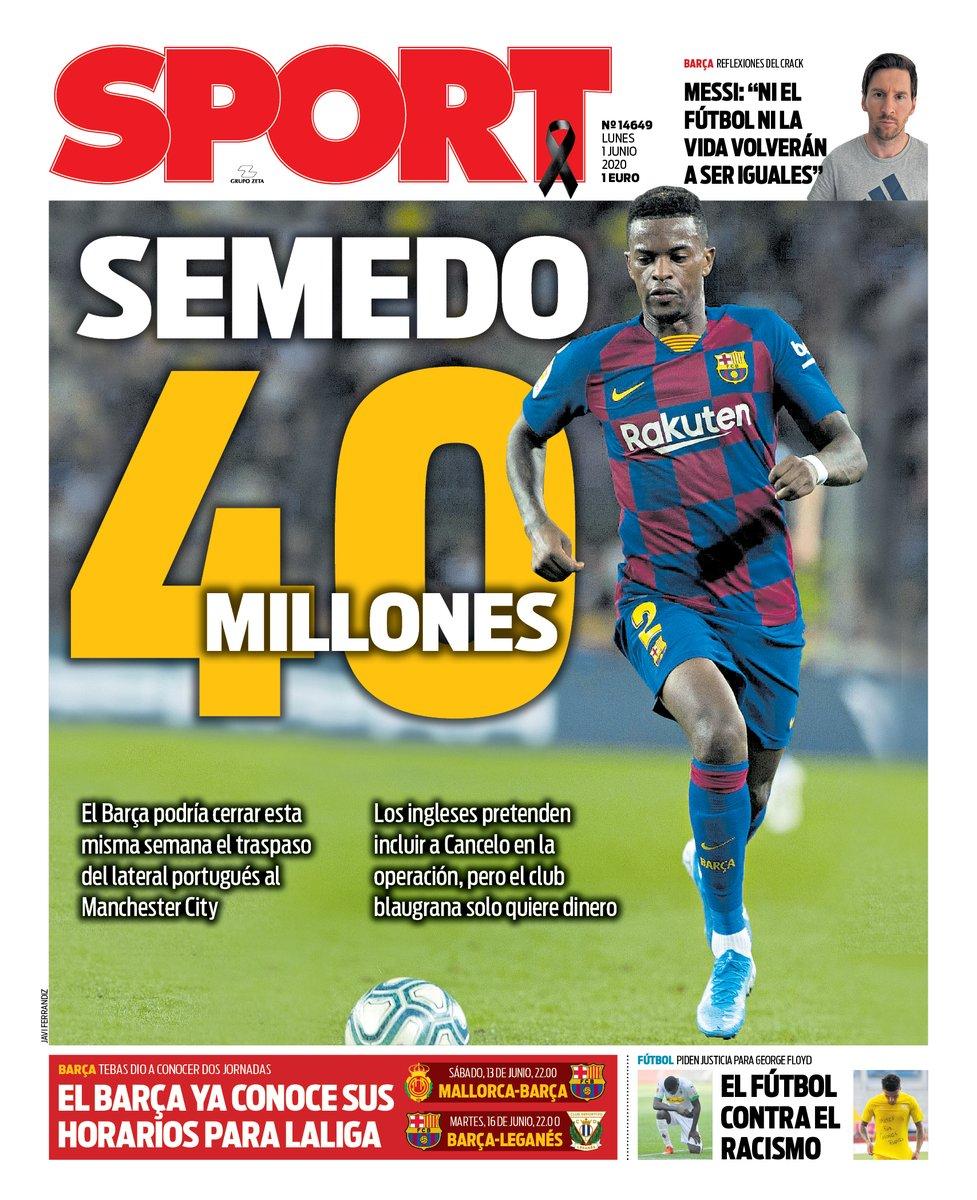 Barcelona set for €40m windfall on Nelson Semedo
