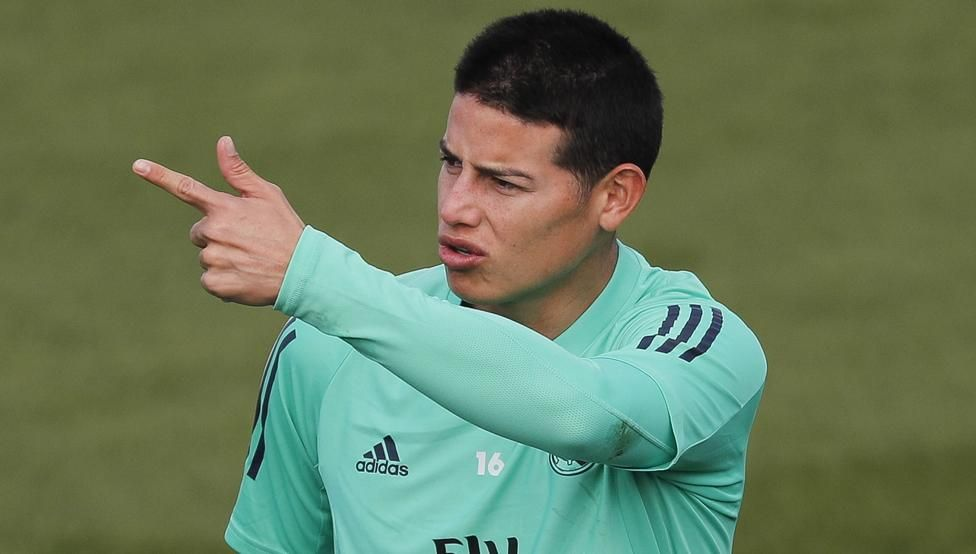 James Rodriguez wanted Atletico Madrid transfer – stepfather