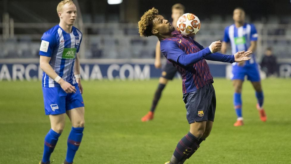 Barcelona gem Konrad set for Ligue 1 loan if B team fail in promotion bid