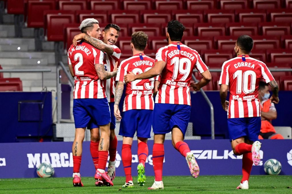 Atletico Madrid Gegen Real Madrid