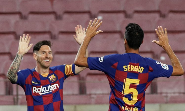 (Video) Lionel Messi's cheeky panenka v Atletico Madrid makes it 700 career goals