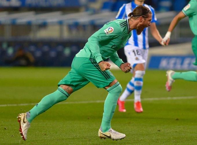 Sergio Ramos suffers injury in Real Sociedad win