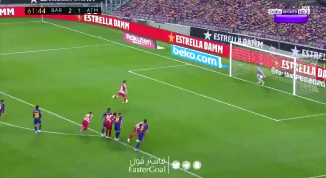 (Video) Saul Niguez nets second penalty of the night at Barcelona
