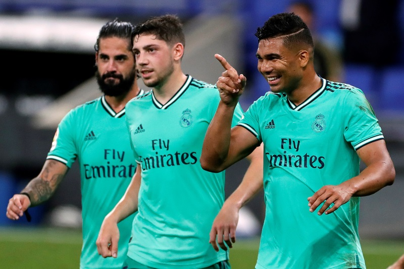 Real Madrid star Casemiro passed fit to face Inter Milan