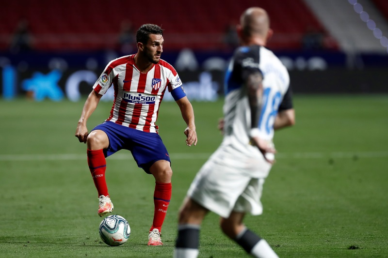 Atletico Madrid to appeal against Koke's Barcelona ban