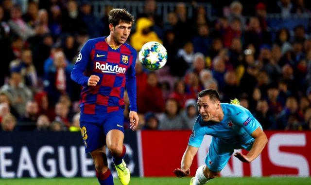 Sergi Roberto, jugador del Barcelona