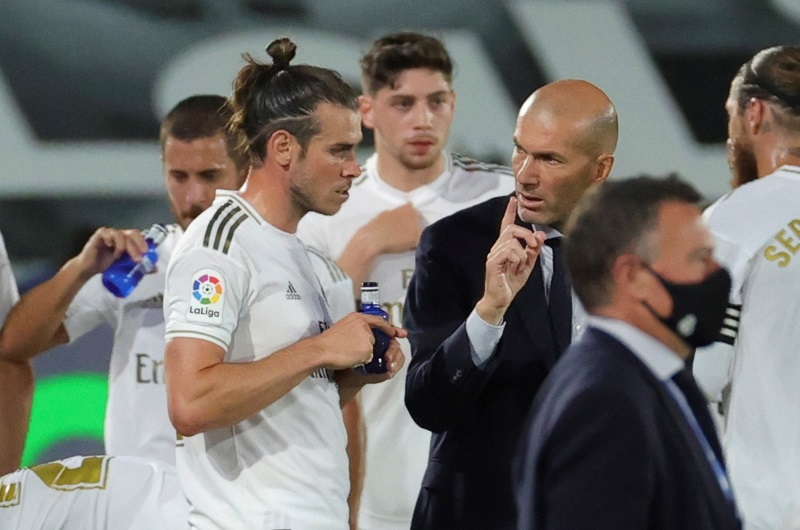 Real Madrid confirm no offers received for Gareth Bale