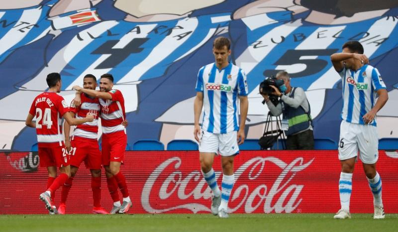 La Liga: Granada keep European dreams alive with pulsating win at Real Sociedad