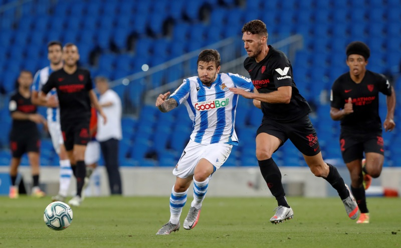 Real Sociedad on verge of European qualification following Sevilla draw