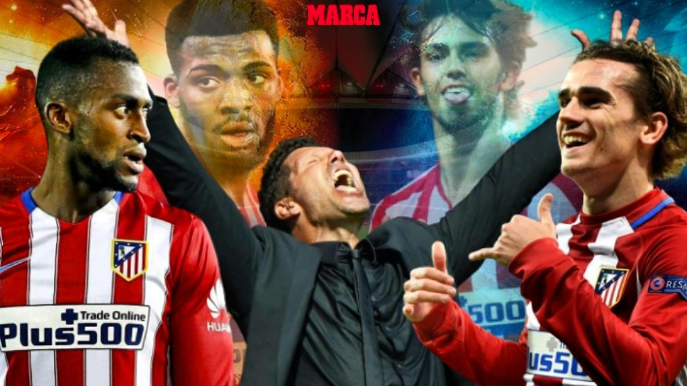 Atletico Madrid average net spend of just €15m per year in transfer fees under Simeone