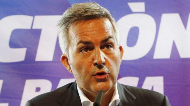 El candidato presidencial de Barcelona Víctor Font