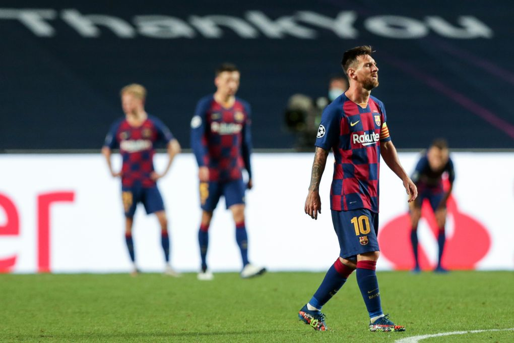 Messi speaks out amid Barcelona exit: