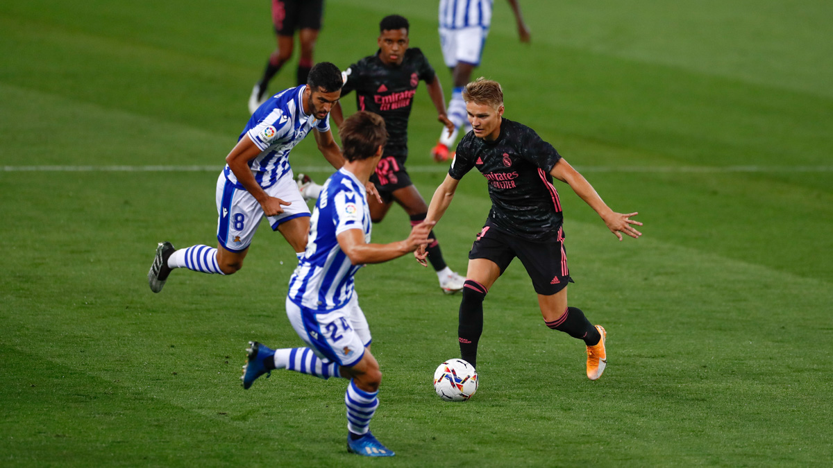 Real Sociedad in talks to sign Martin Odegaard on loan with an option to buy
