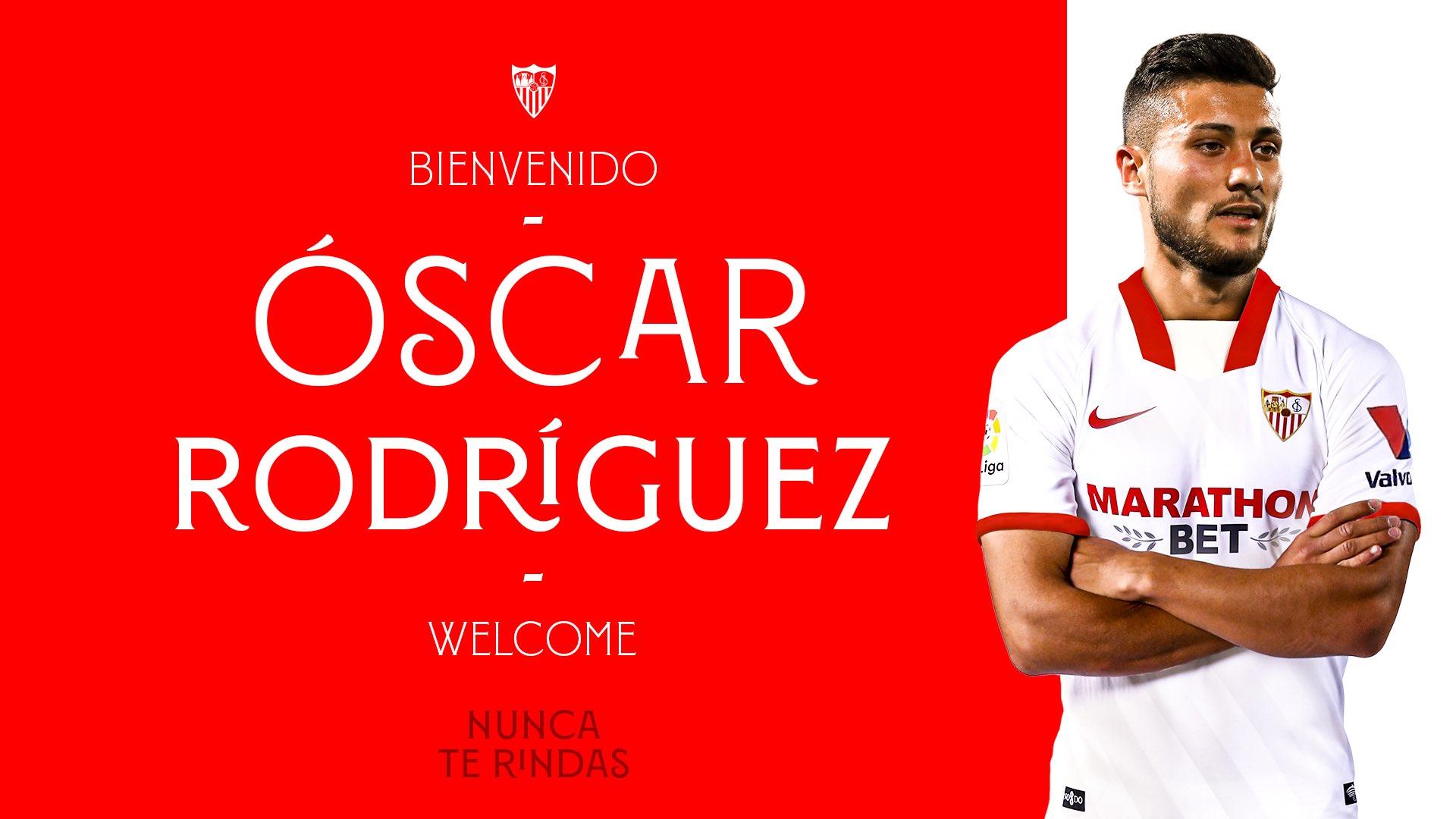 Sevilla confirm deal for Real Madrid midfielder Oscar Rodriguez