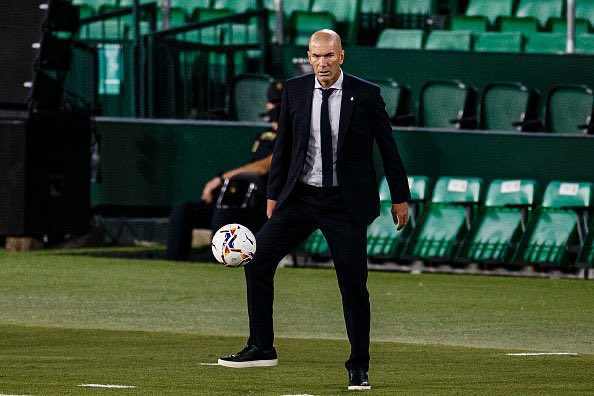 Zinedine Zidane pleased with Real Madrid's start to 2020-21 season