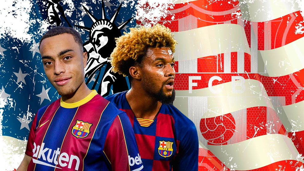 USA influence on Barcelona with two Americans in squad for the first time