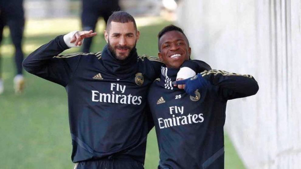"Real Madrid's Vinicius Junior speaks on Karim Benzema spat: ""Our relationship is excellent"""