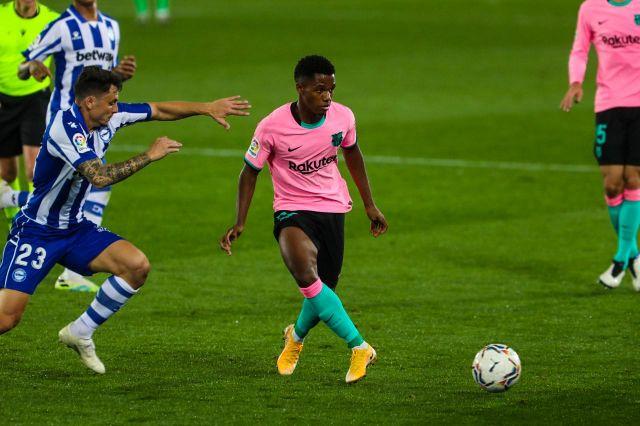 Ansu Fati es jugador del Barcelona