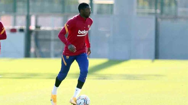 Barcelona forward Dembele had extra training sessions due to Koeman commands