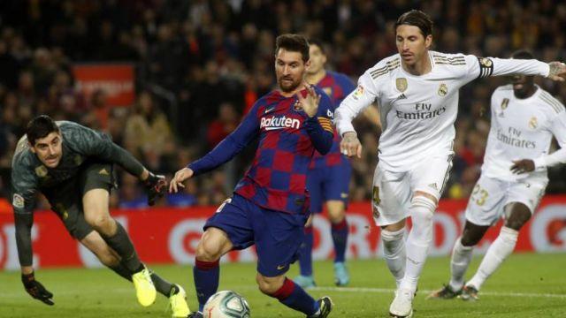 Ramos, Messi contra el Barcelona Real Madrid El Clsico