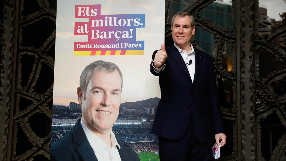 "Barcelona presidential election a ""dirty war"" – candidate"
