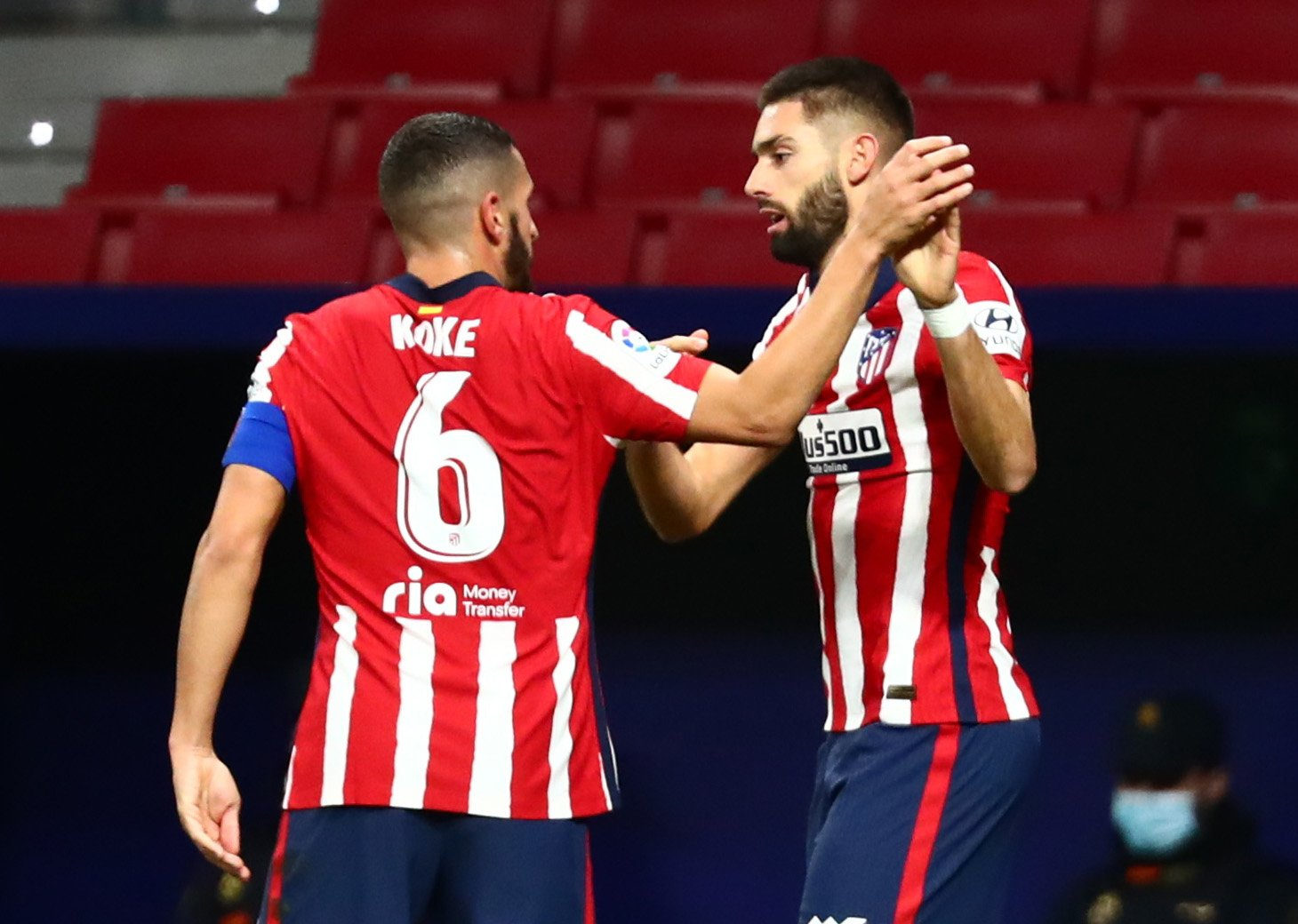 """Yannick Carrasco: """"We're thinking game by game"""""""